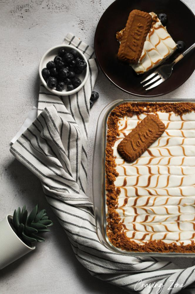 lotus biscoff layered dessert