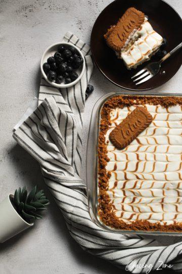 LOTUS biscoff lasagna