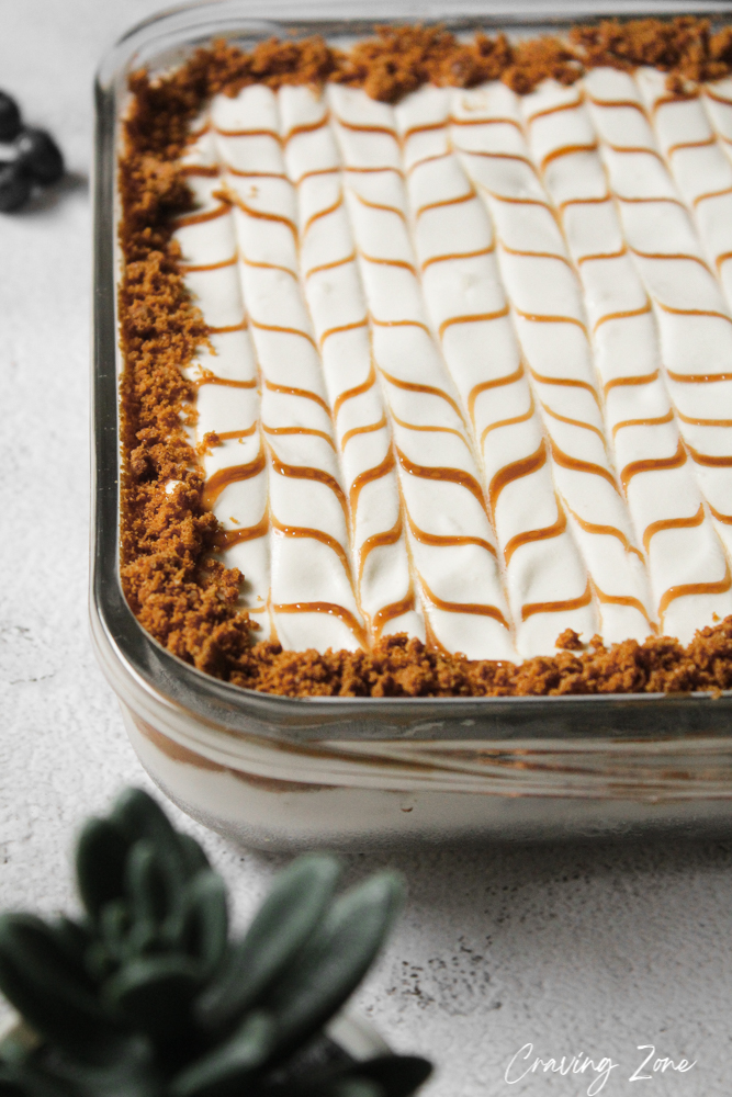 lotus layered dessert