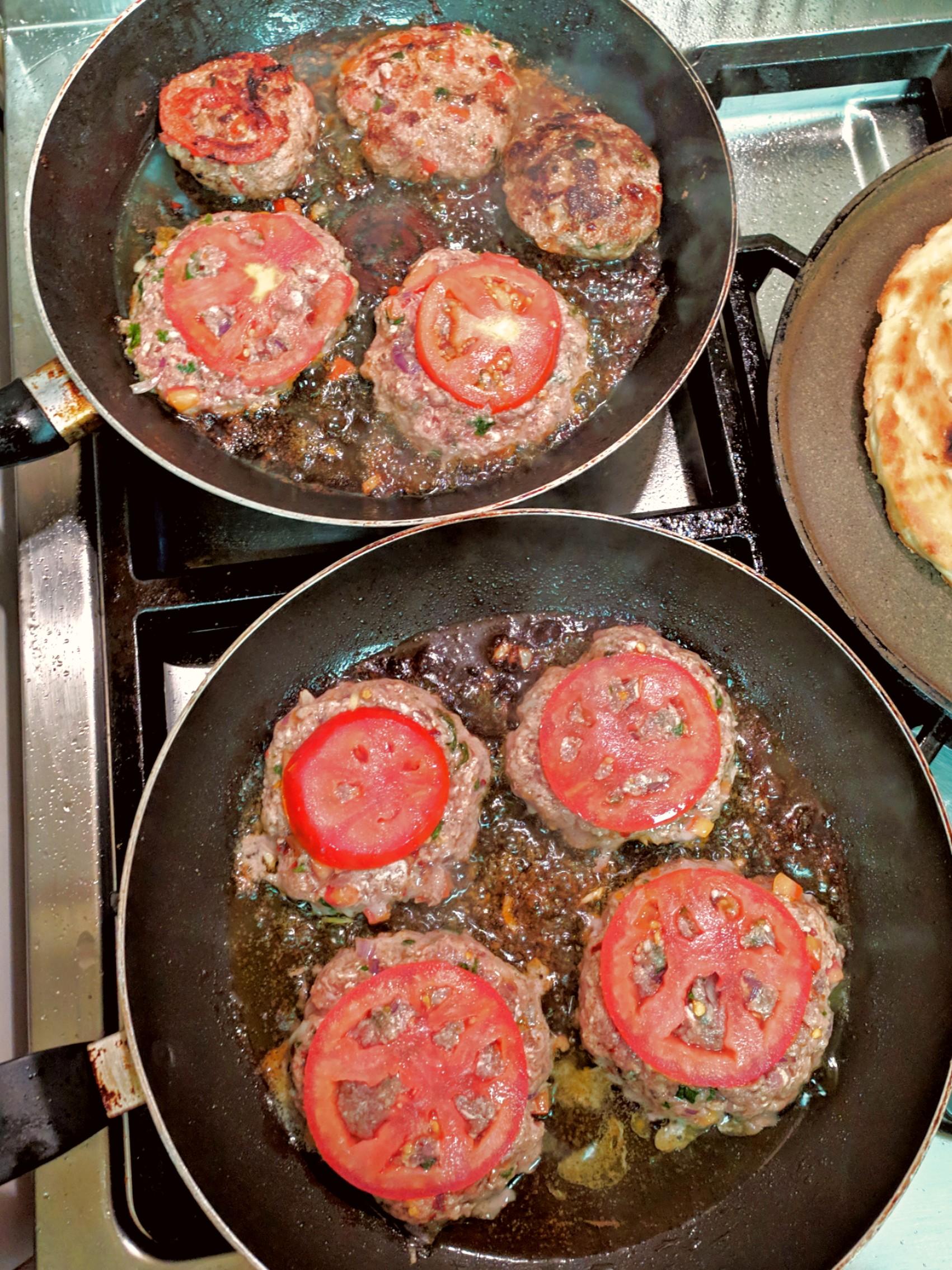 frying kabab