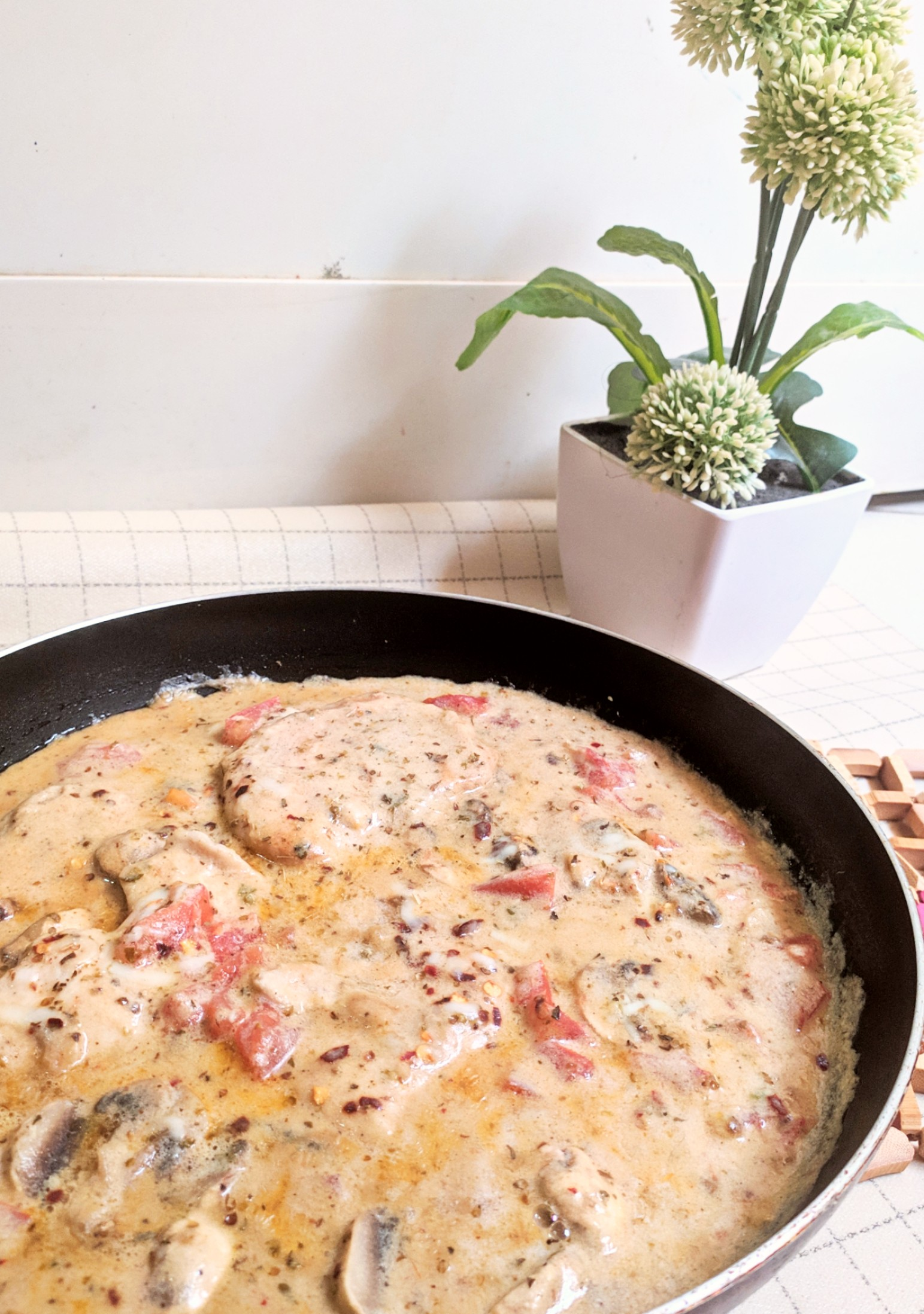 tuscan chicken one pot