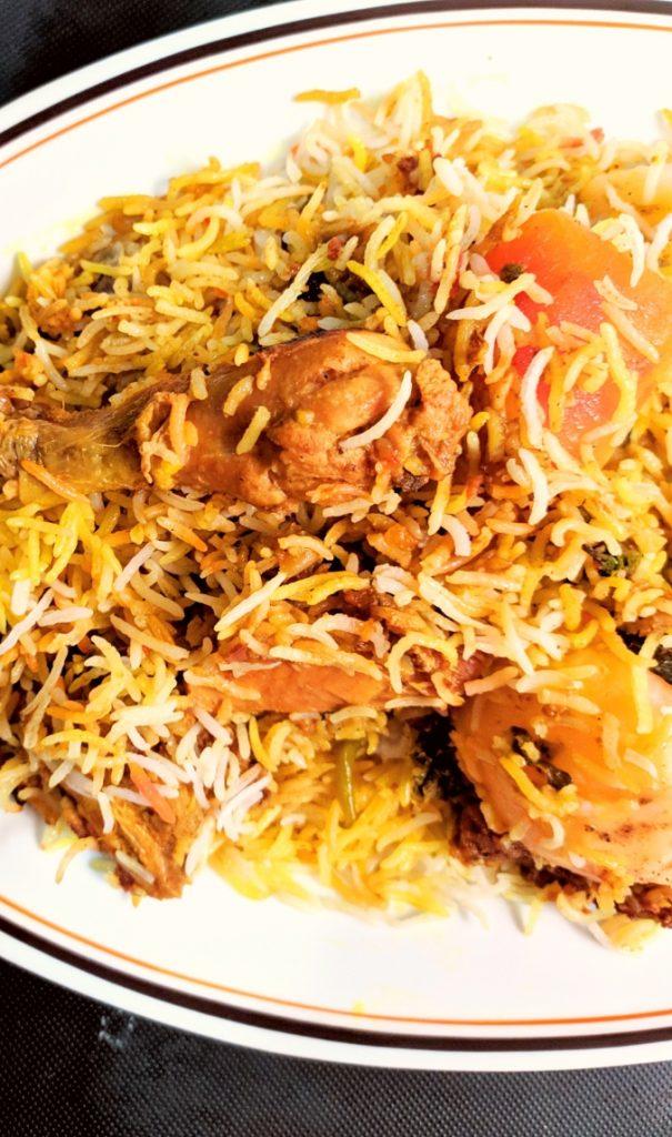 easy shan chicken biryani