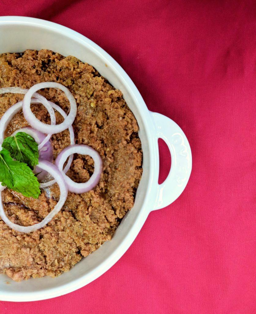 Seekh Kabab fry