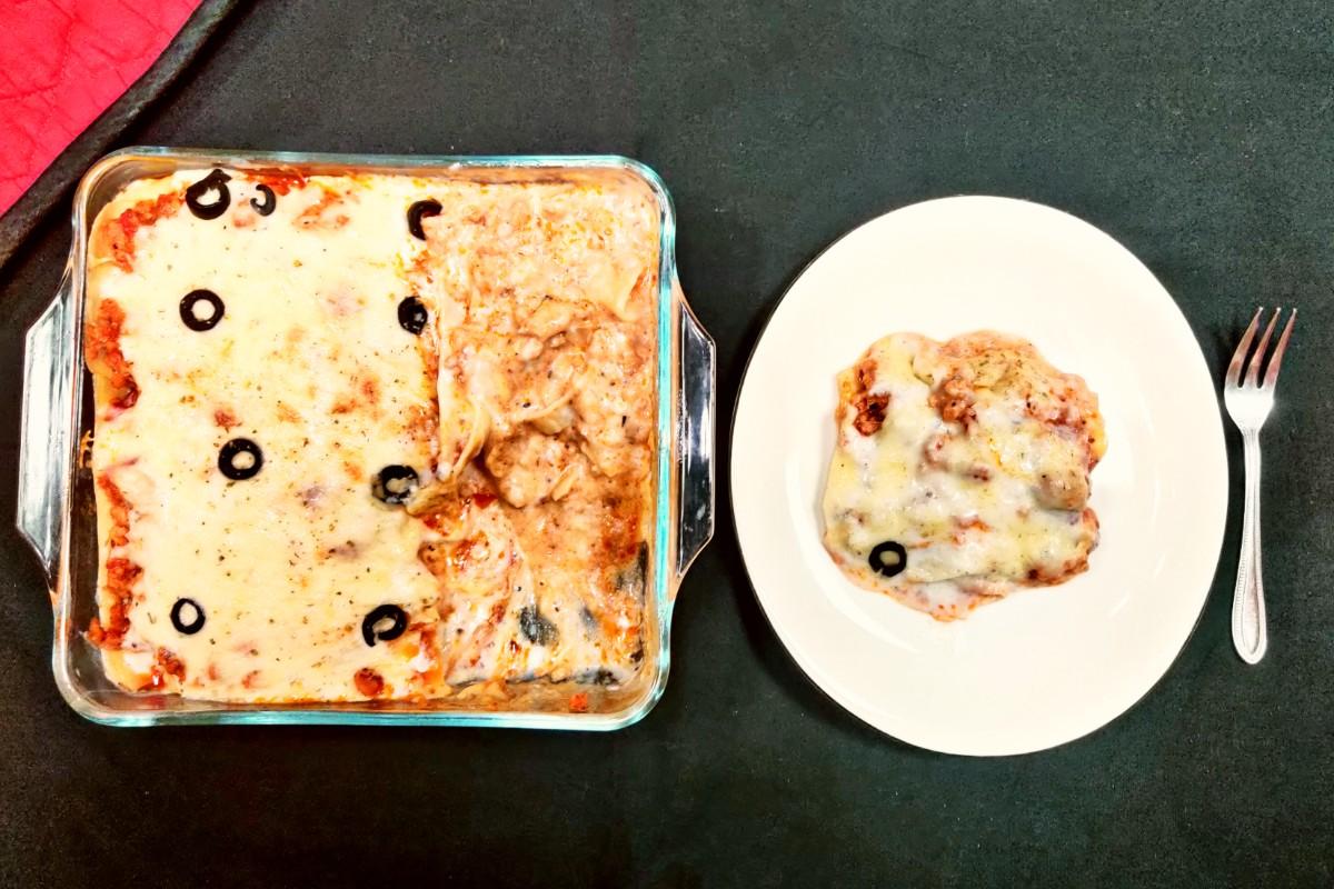 saucy lasagne