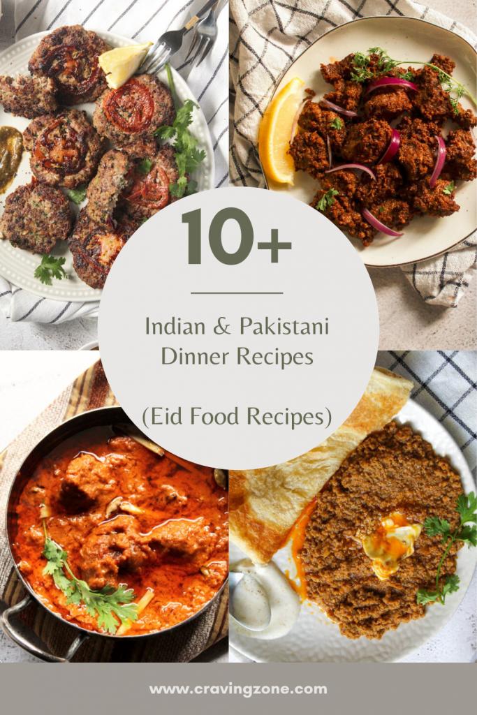 indian and pakistani eid dinner recipes